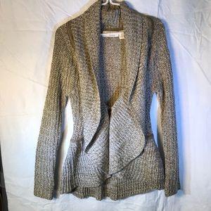 Allison Brittney stunning sweater cardigan Sz S